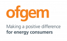 Ofgem logo - making a positive difference for energy consumers